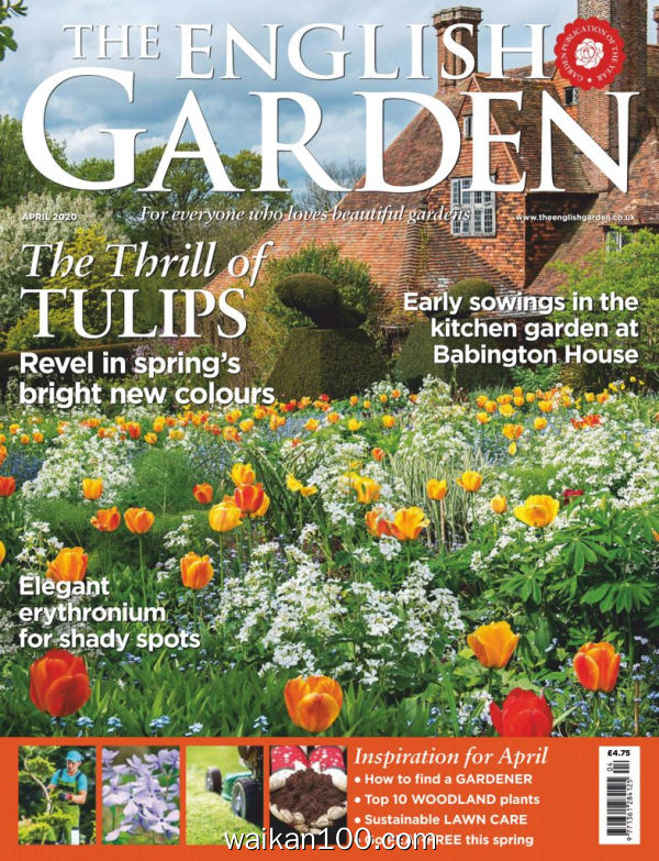 The English Garden 4月刊 2020年高清PDF电子杂志外刊期刊下载英文原版