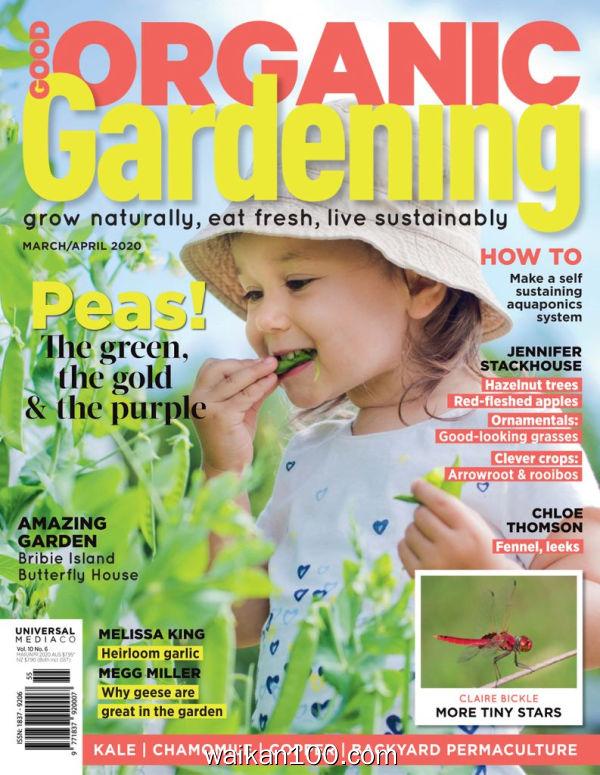 Good Organic Gardening 3月4月合刊 2020年高清PDF电子杂志外刊期刊下载英文原版