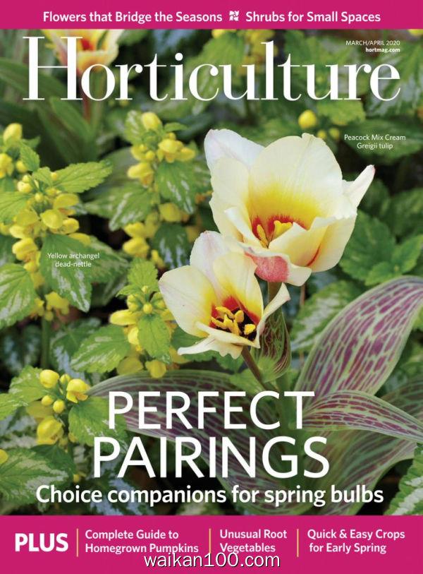 Horticulture 3月刊 2020年高清PDF电子杂志外刊期刊下载英文原版