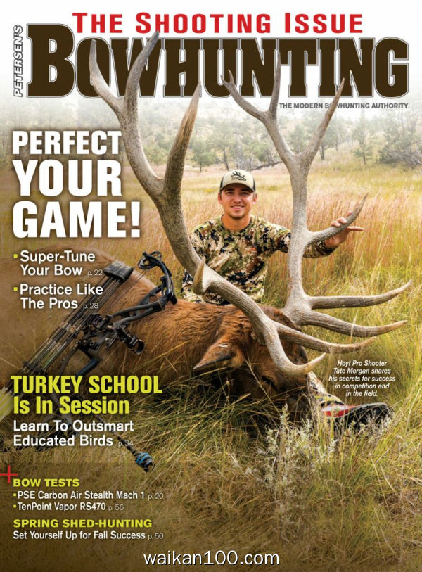 Petersen's Bowhunting 4月刊 2020年 [39MB]
