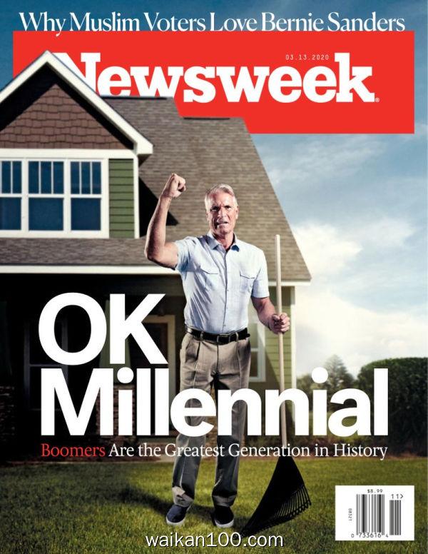 [美国版]Newsweek 3月刊 13 2020年 [45MB]