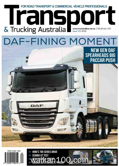 [澳大利亚版]Transport&Trucking 总期数No.129 2020年 [15MB]