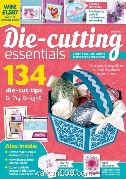 Die cutting Essentials 总期数No.63 3月刊 2020年高清PDF电子杂志外刊期刊下载英文原版