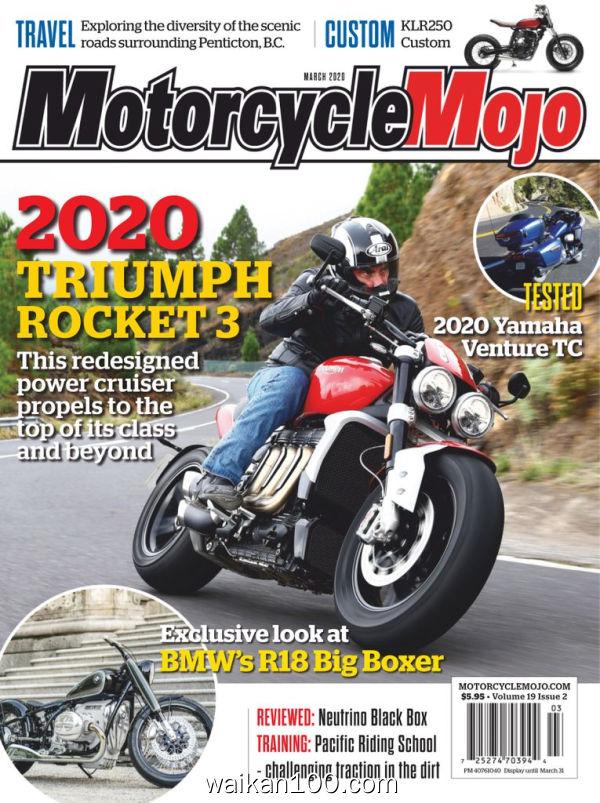 Motorcycle Mojo 3月刊 2020年 [75MB]