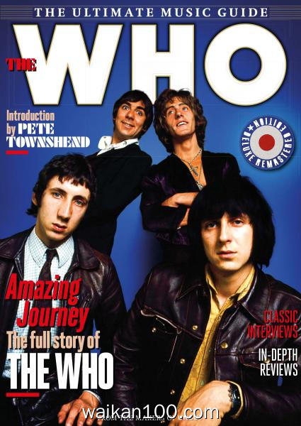 Uncut The Ultimate Music Guide The Who 2020年高清PDF电子杂志外刊期刊下载英文原版
