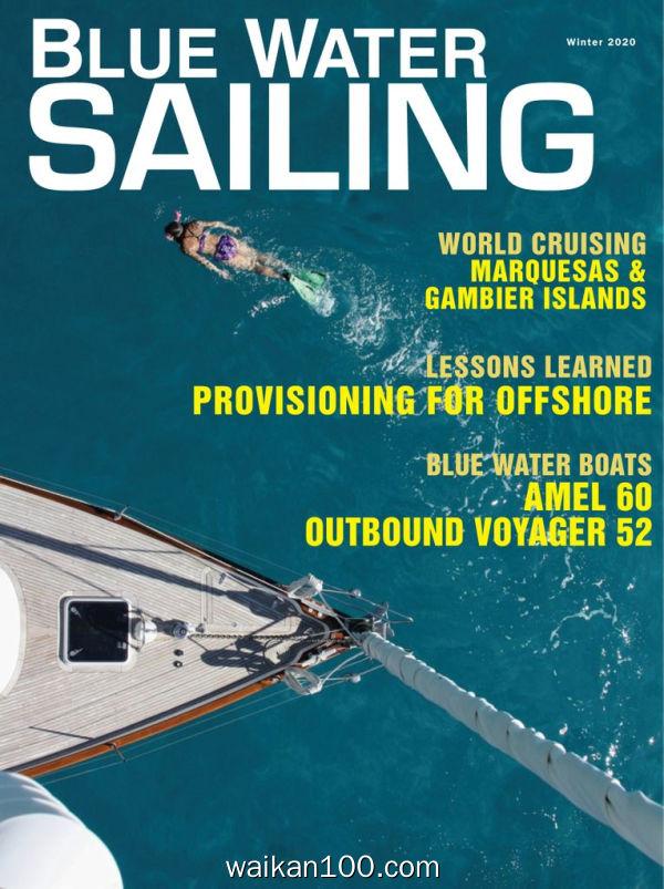 Blue Water Sailing 10月刊 2019高清PDF电子杂志外刊期刊下载英文原版