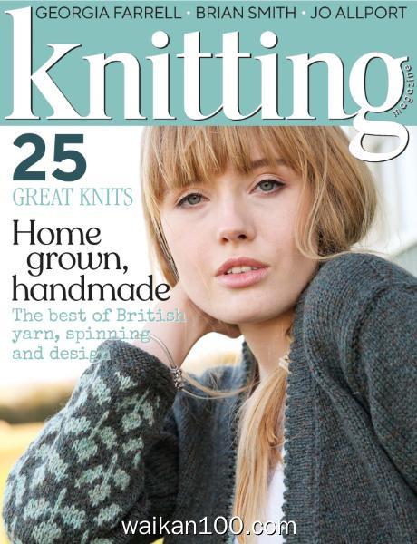Knitting 4月刊 2020年高清PDF电子杂志外刊期刊下载英文原版