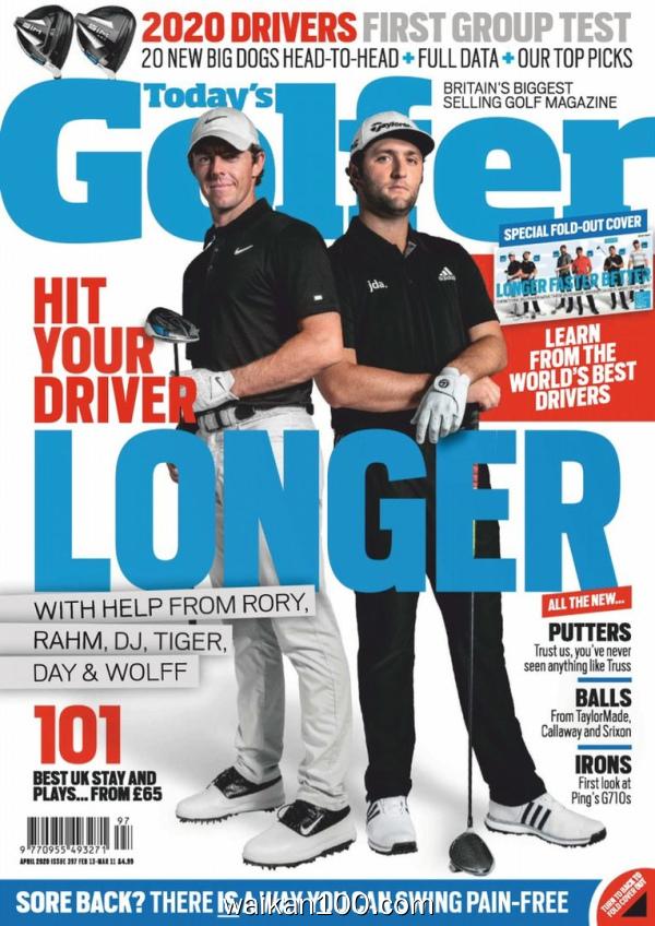 [英国版]Today's Golfer 4月刊 2020年 [79MB]