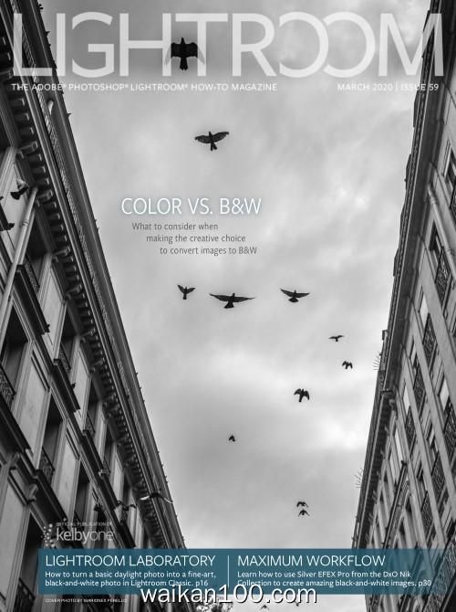 Lightroom Magazine 3月刊 2020年高清PDF电子杂志外刊期刊下载英文原版