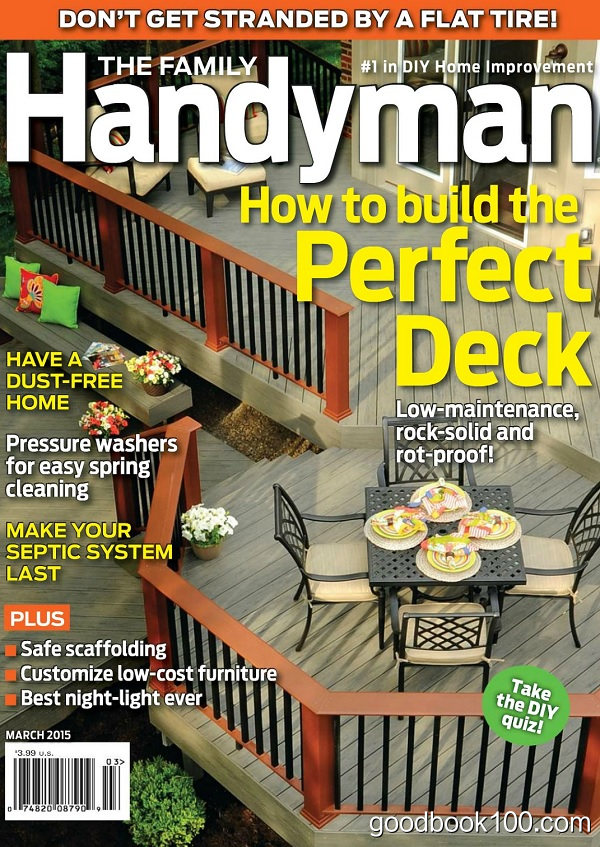 The Family Handyman – March 2015