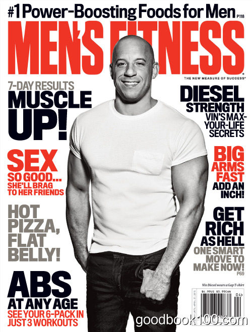 Men's Fitness USA – April 2015