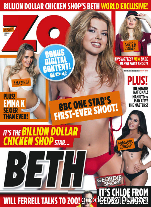 Zoo UK – Issue 573, 10-16 April 2015