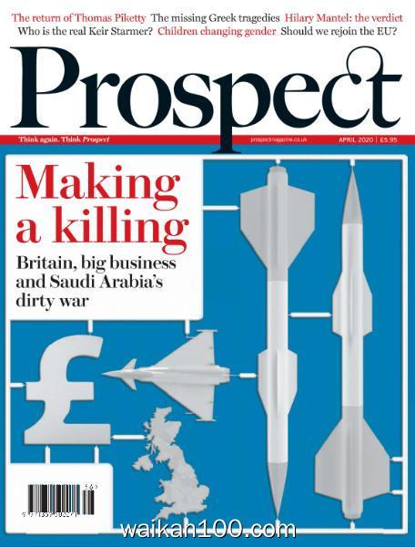 Prospect Magazine 4月刊 2020年 [16MB]
