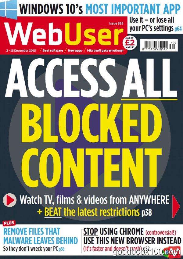 WebUser – 2 December 2015