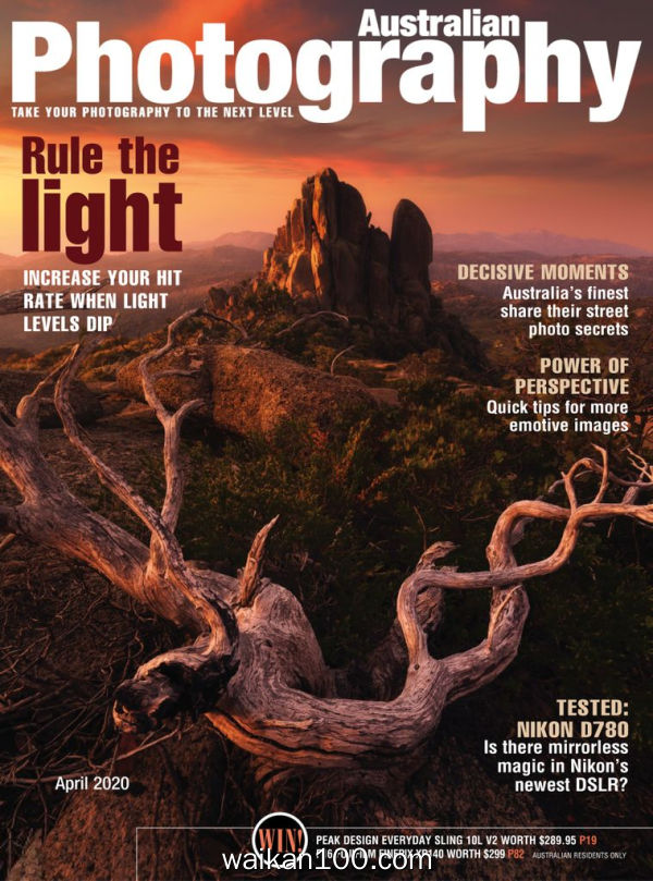 Australian Photography 4月刊 2020年 [98MB]