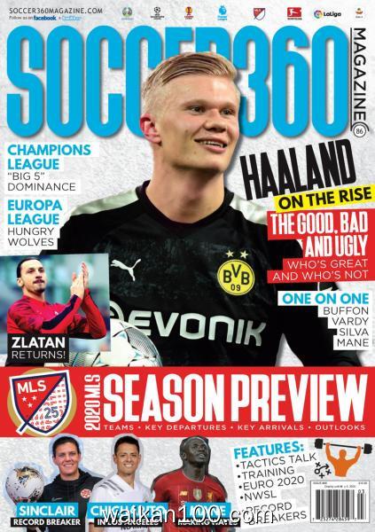 Soccer 360 3月4月合刊 2020年 [121MB]