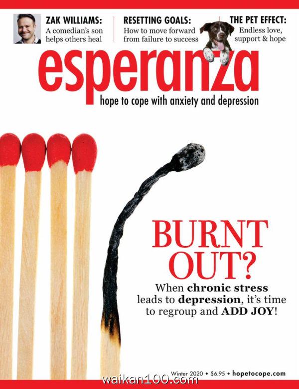 esperanza Magazine for Anxiety&Depression 2月刊 2020年 [17MB]