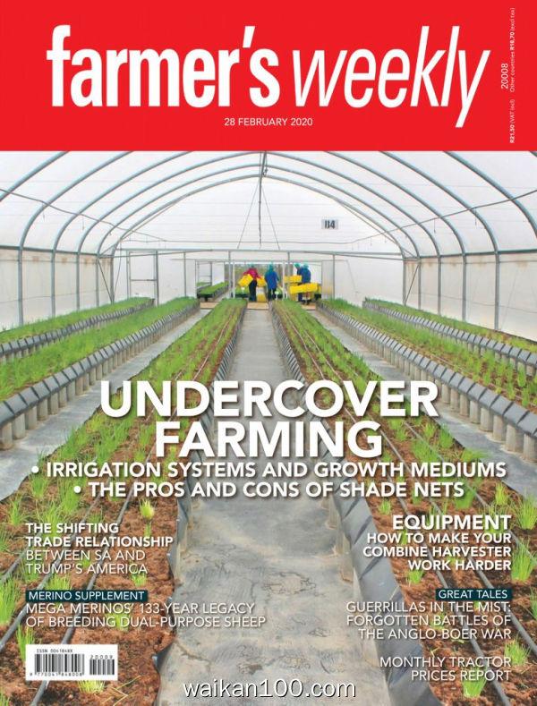 Farmer's Weekly 28 2月刊 2020年 [39MB]