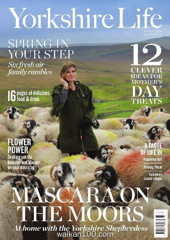 Yorkshire Life 3月刊 2020年 [169MB]