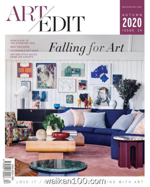 Art Edit 总期数No.24 Autumn 2020年 [13MB]
