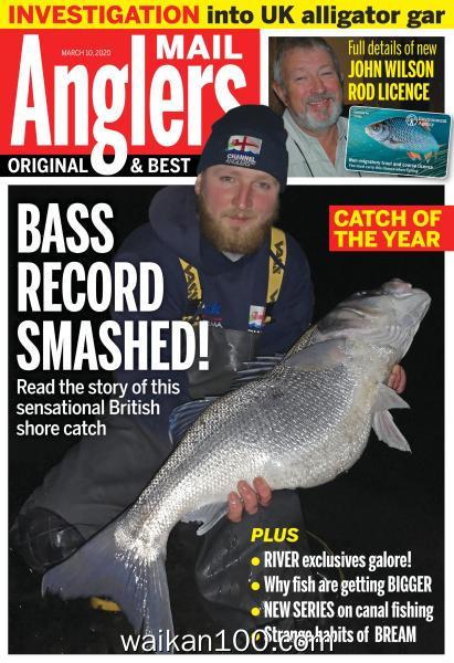 Angler's Mail 3月刊 10 2020年 [68MB]