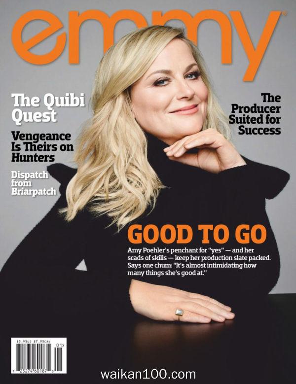 Emmy Magazine 1月刊 2020年高清PDF电子杂志外刊期刊下载英文原版