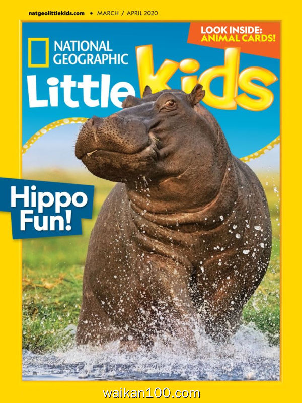 National Geographic Little Kids 3月刊 2020年 [19MB]