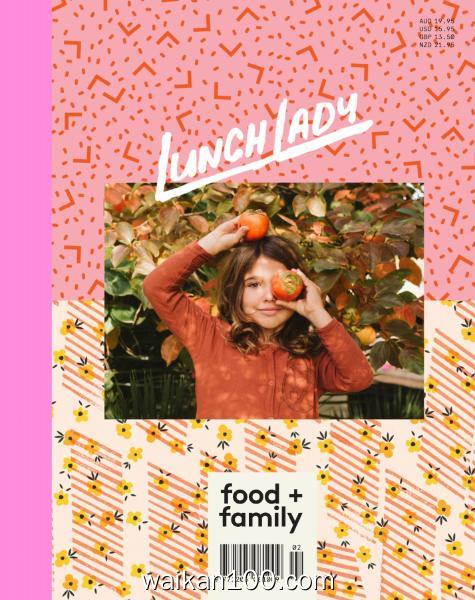 Lunch Lady Magazine 总期数No.18 3月刊 2020年高清PDF电子杂志外刊期刊下载英文原版