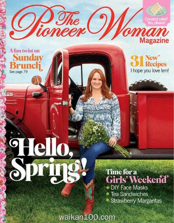 Pioneer Woman 2月刊 2020年高清PDF电子杂志外刊期刊下载英文原版