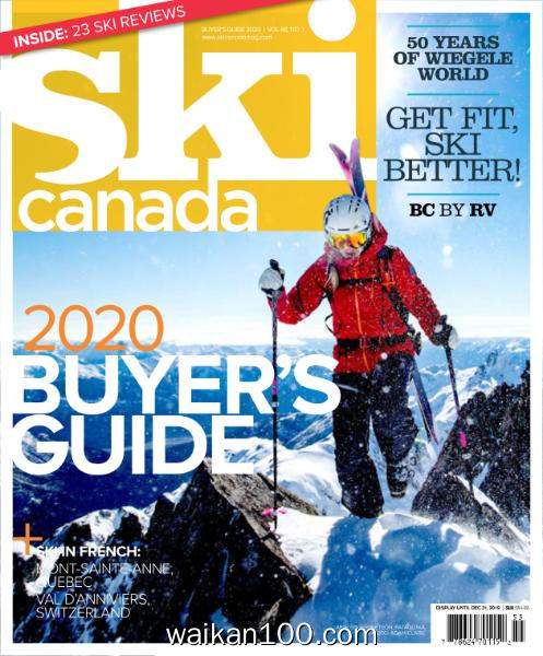 Ski Canada Buyer's Guide 2020年 [26MB]