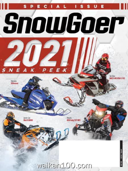 SnowGoer 4月刊 2020年 [18MB]