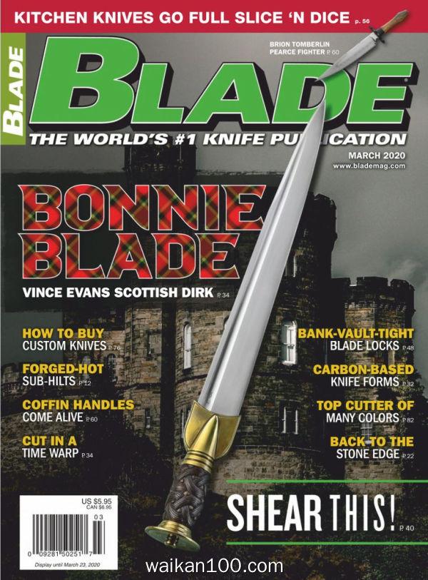 Blade 3月刊 2020年 [36MB]
