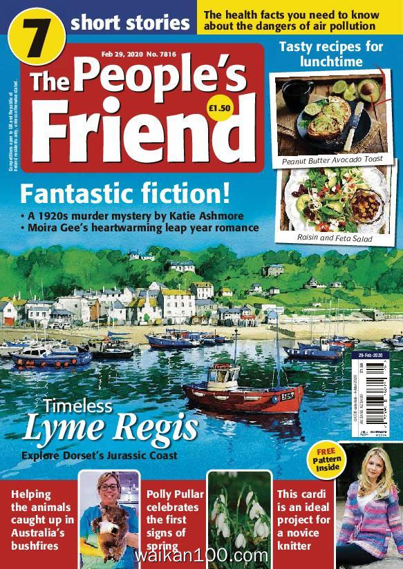 The People s Friend 2月刊 29 2020年高清PDF电子杂志外刊期刊下载英文原版