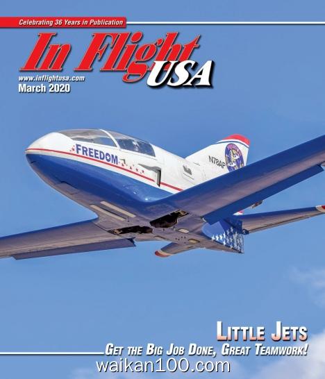 [美国版]In Flight 3月刊 2020年 [16MB]