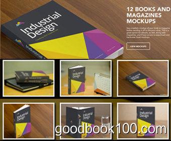 Zippypixels 12 Books and Magazines Mockups