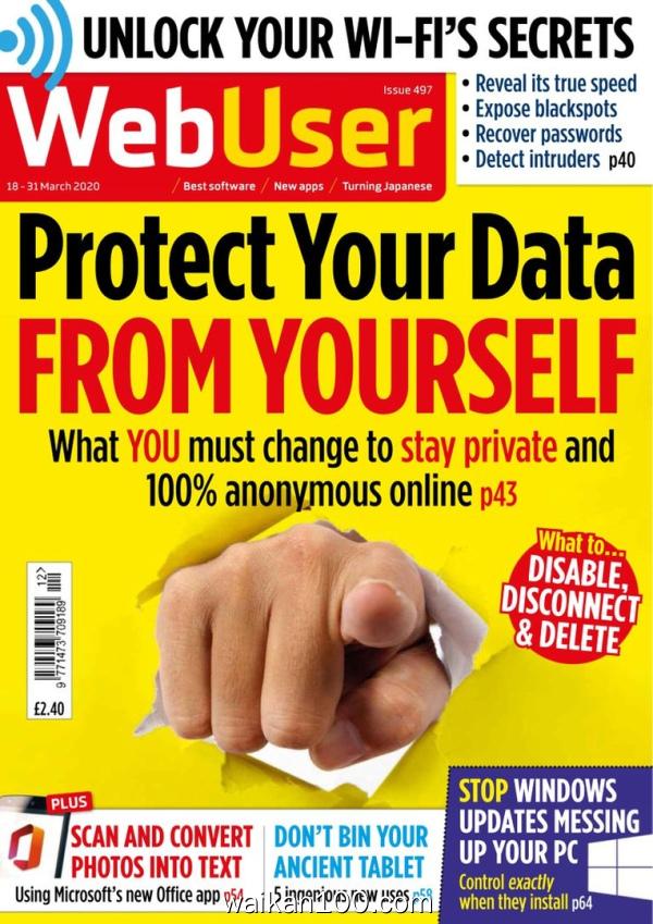 WebUser 18 3月刊 2020年 [47MB]