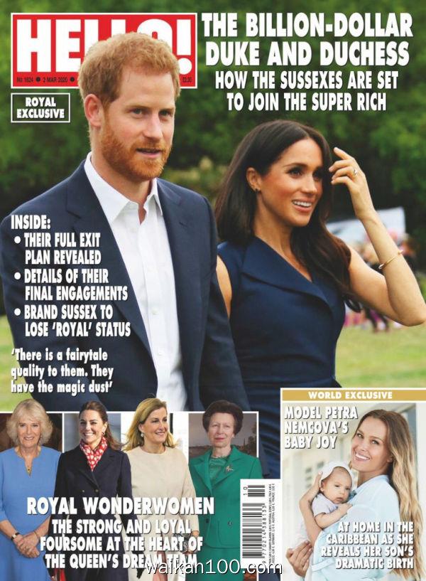 [英国版]Hello!Magazine 09 3月刊 2020年高清PDF电子杂志外刊期刊下载英文原版
