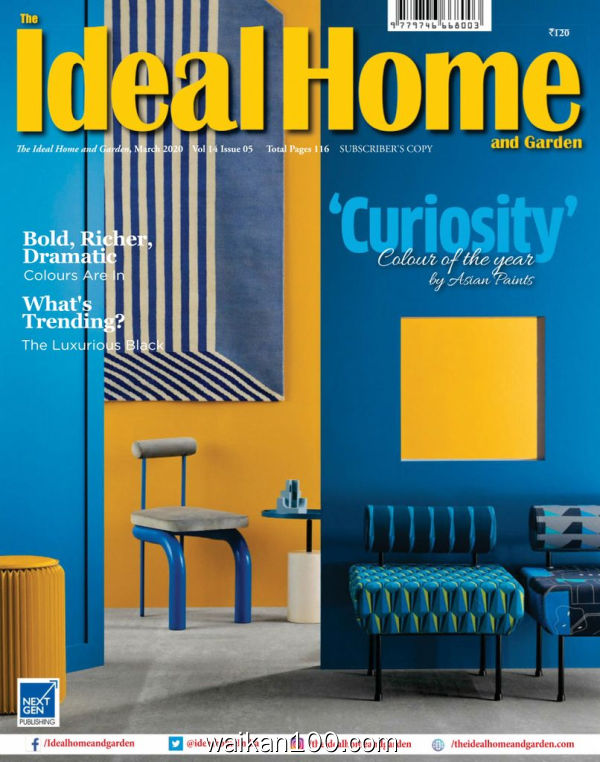 The Ideal Home and Garden 3月刊 2020年 [61MB]
