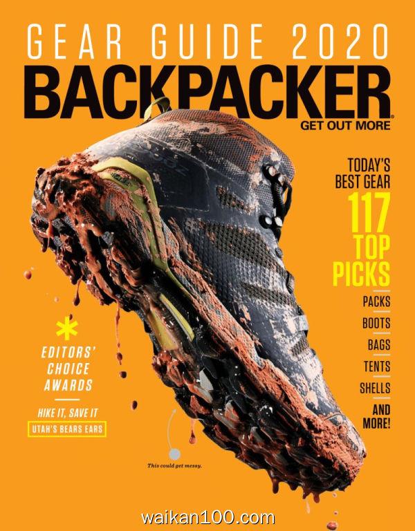 Backpacker 3月刊 2020年 [162MB]