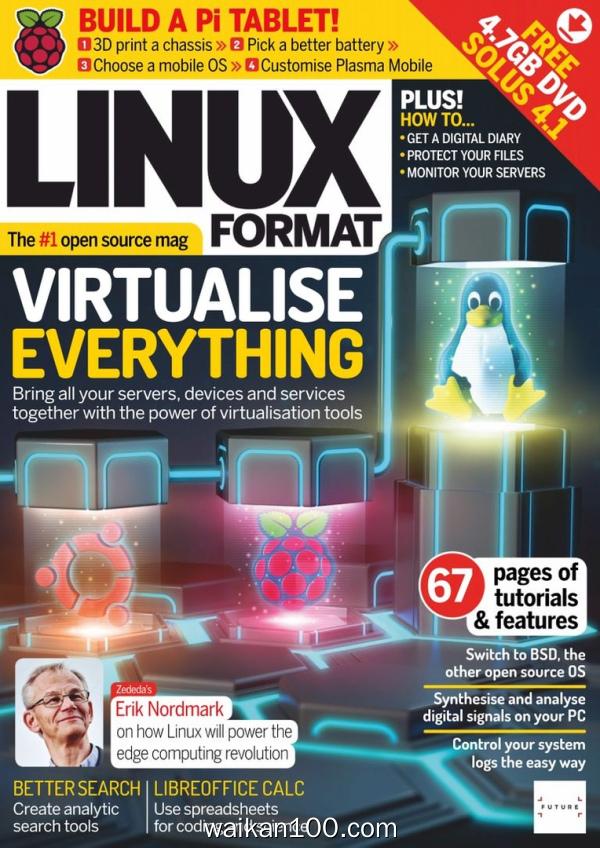 [英国版]Linux Format 4月刊 2020年 [27MB]
