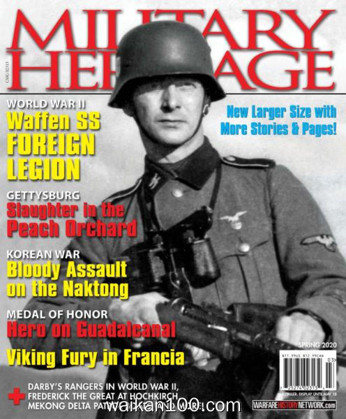 Military Heritage Spring 2020年 [27MB]