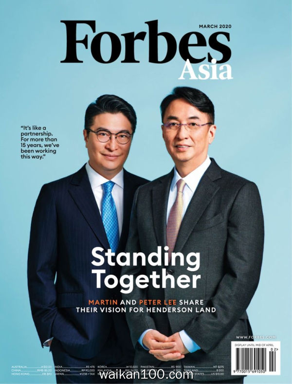 Forbes Asia 3月刊 2020年 [50MB]