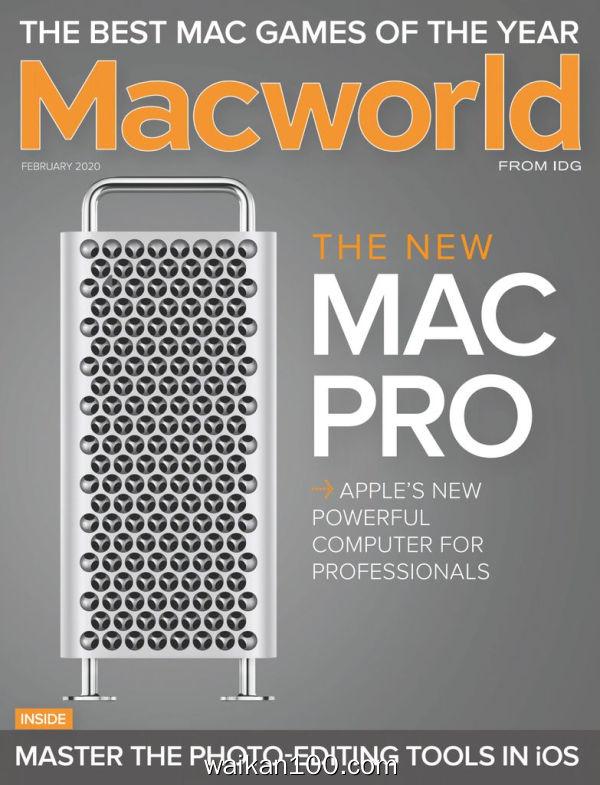 [澳大利亚版]Macworld 2月刊 2020年高清PDF电子杂志外刊期刊下载英文原版