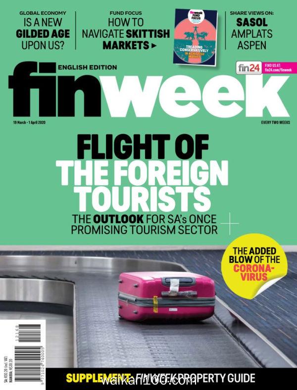 Finweek English Edition 3月刊 19 2020年 [21MB]
