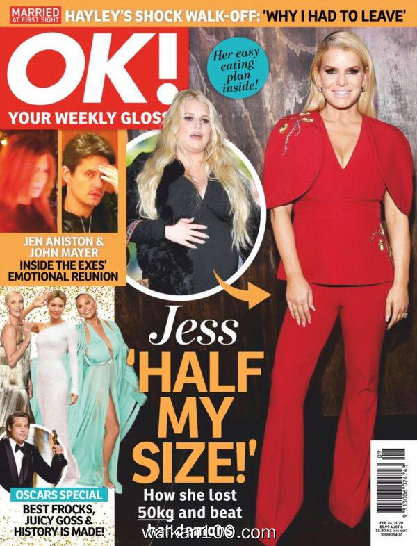 [澳大利亚版]OK!Magazine 2月刊 24 2020年高清PDF电子杂志外刊期刊下载英文原版