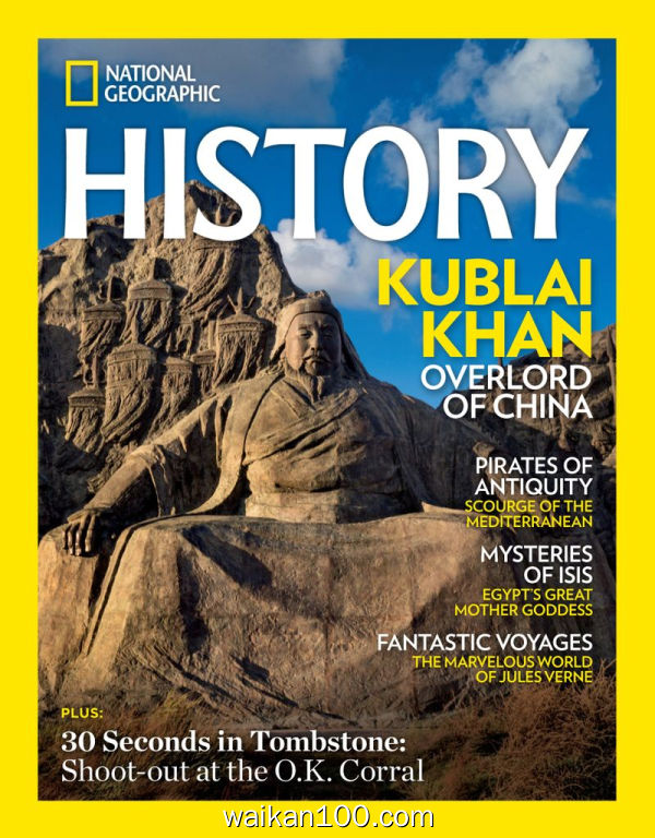 National Geographic History 3月刊 2020年 [171MB]