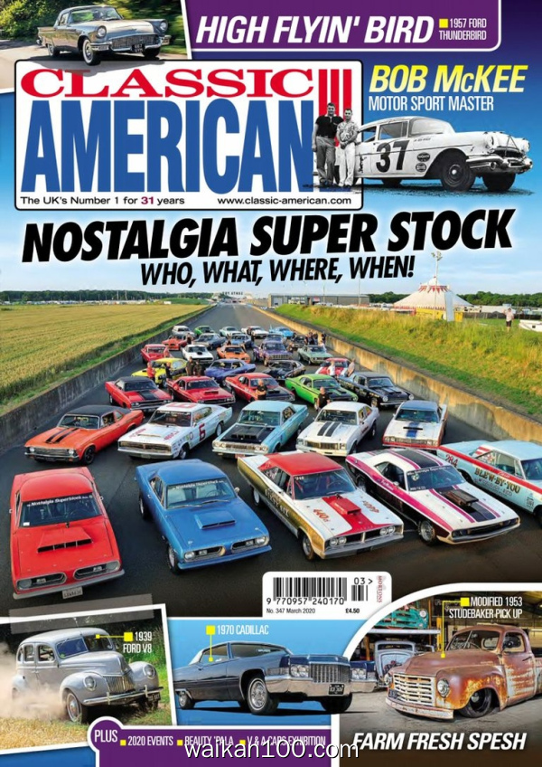 Classic American 3月刊 2020年高清PDF电子杂志外刊期刊下载英文原版