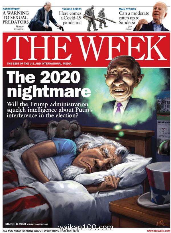 [美国版]The Week 3月刊 14 2020年高清PDF电子杂志外刊期刊下载英文原版