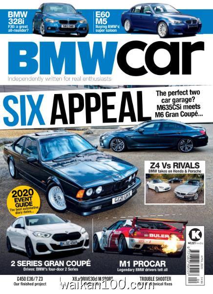 BMW Car 4月刊 2020年 [28MB]