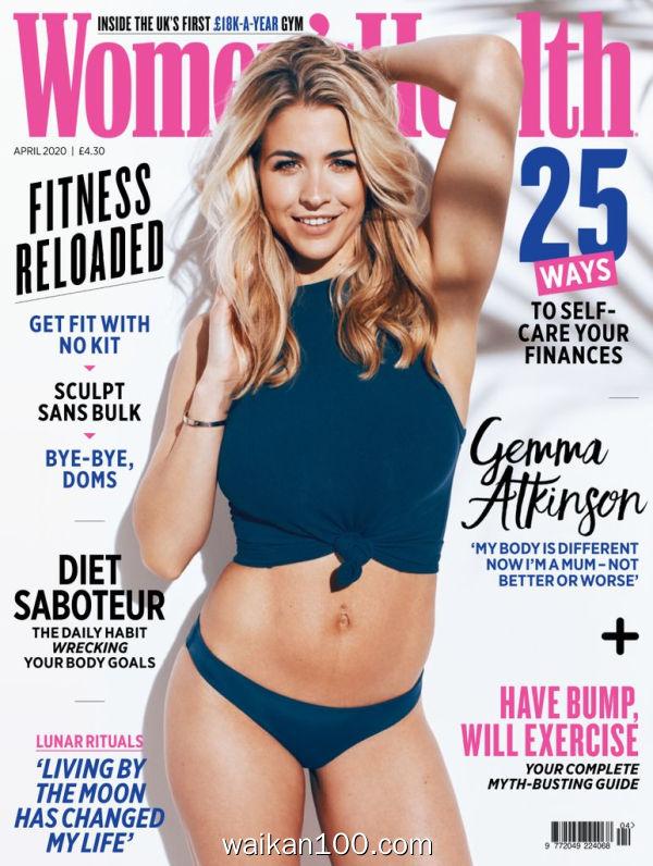 [英国版]Women's Health 4月刊 2020年 [129MB]